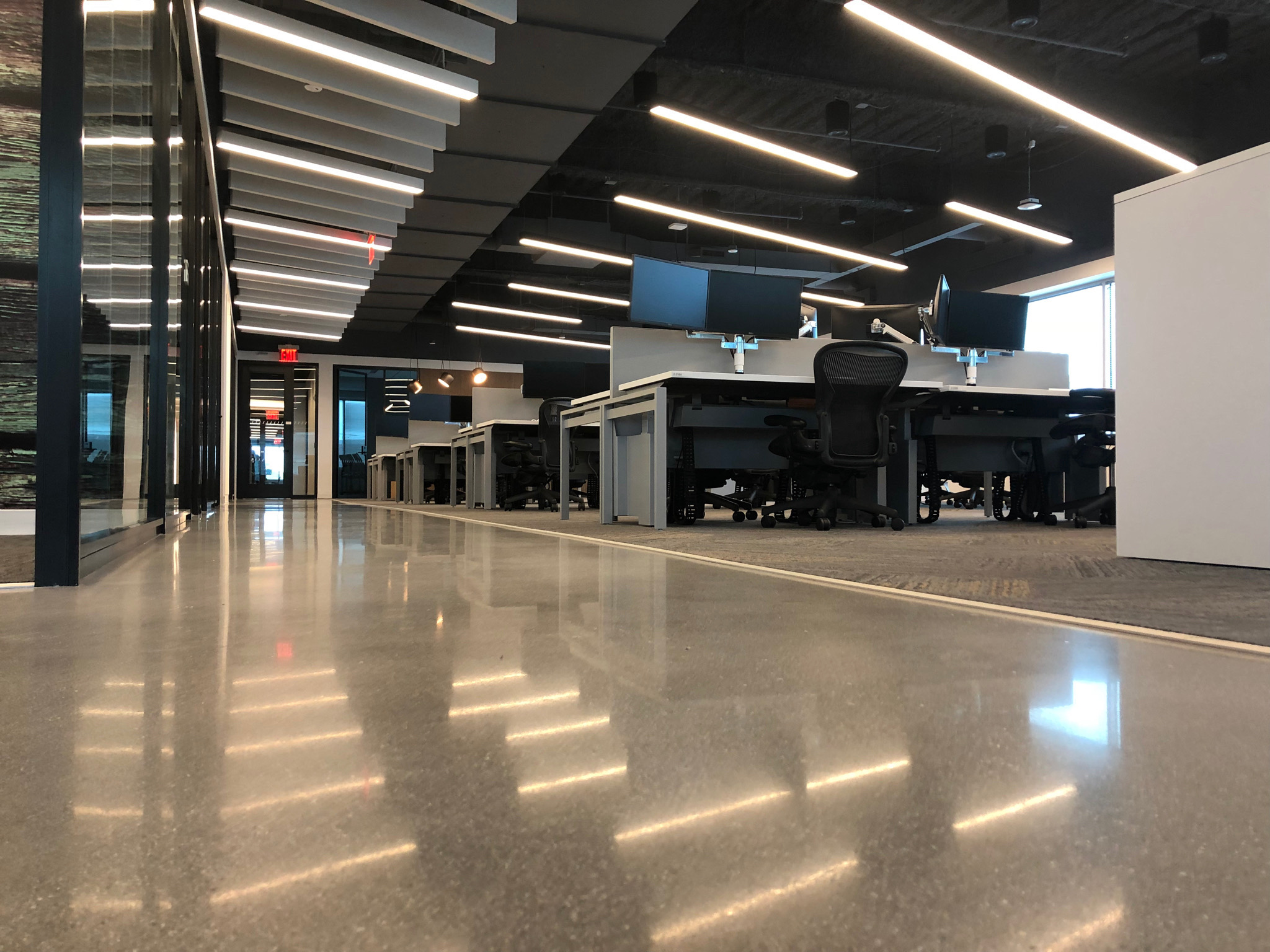 verizon polished concrete