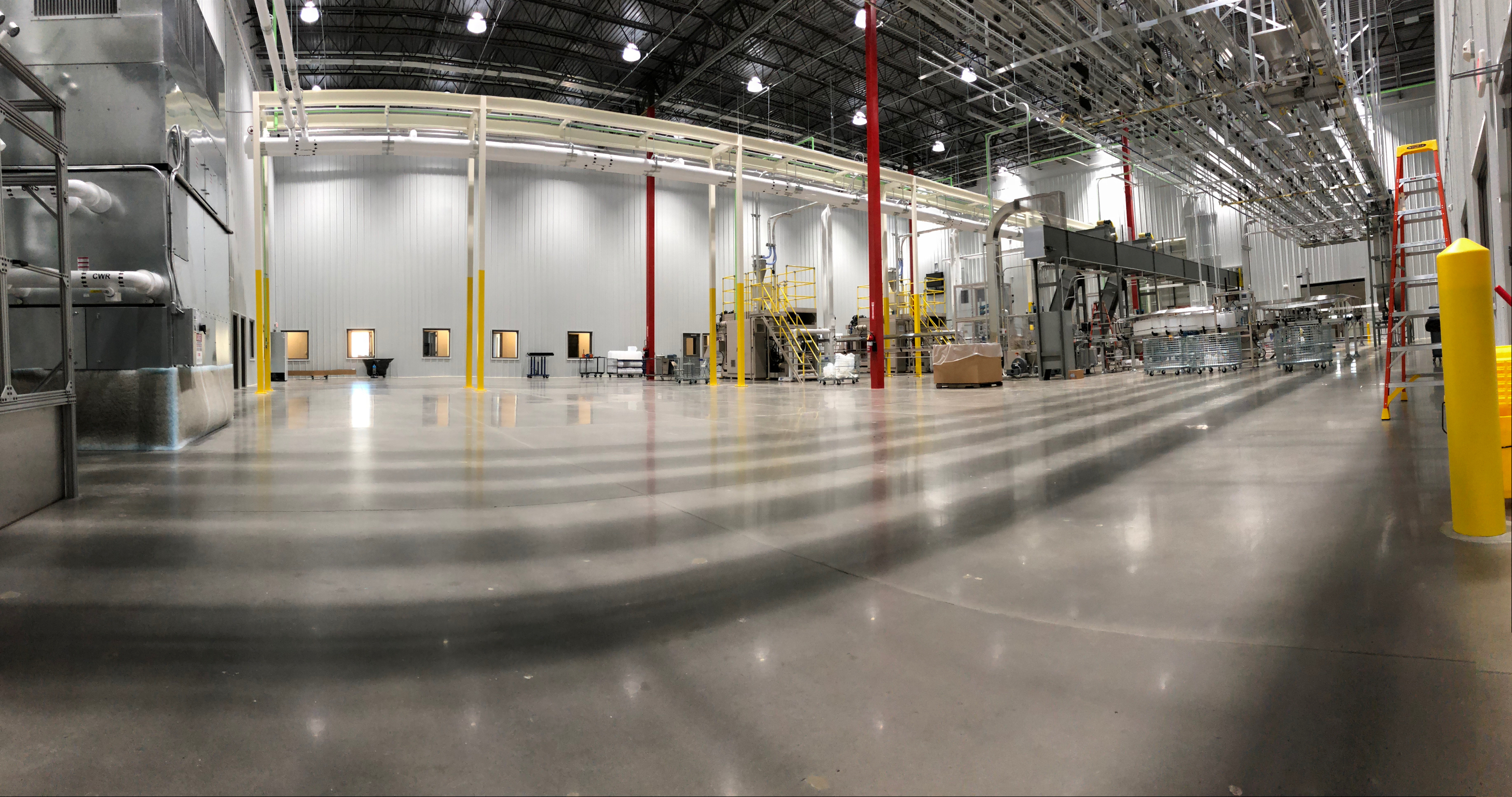 Polished Concrete Manufacturing Facility