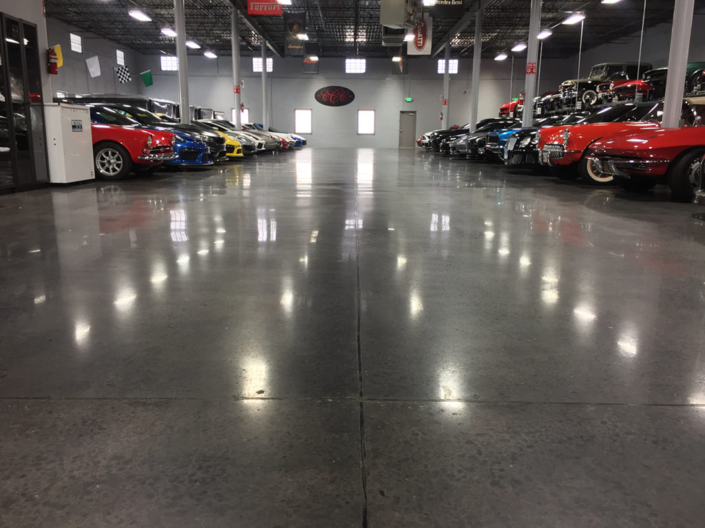 Exposed Polished Concrete